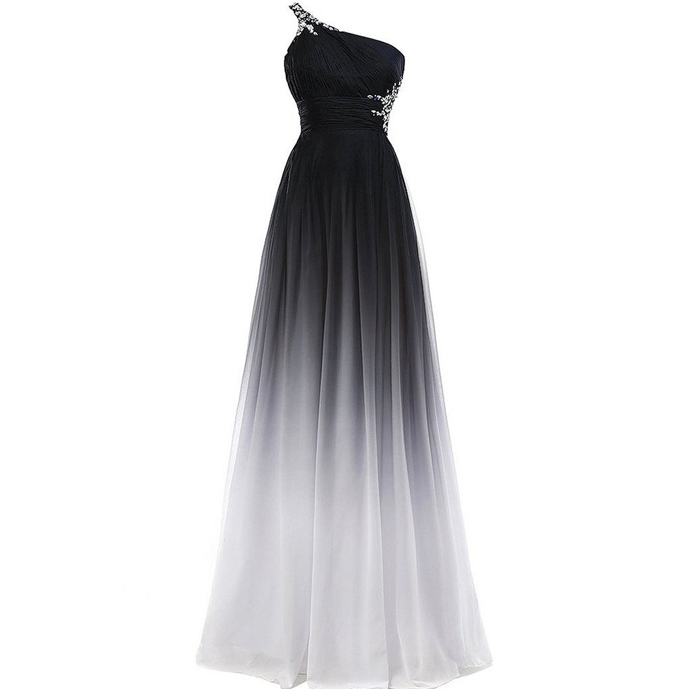 cf431abaded1f US $70.2 35% OFF|Evening Dresses 2019 One Shoulder Elegant Formal Prom  Dress Sexy Long Evening Gowns-in Evening Dresses from Weddings & Events on  ...