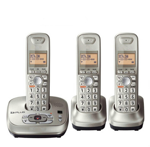 KX-TG4021 Cordless dect phones with Answering System handset cordless digital telephone phones