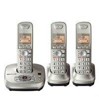 Cordless KX-TG4021 dect telefony z System słuchawka bezprzewodowy cyfrowy telefon Sekretarka