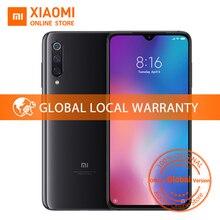 Küresel Sürüm Xiao mi mi 9 6 GB 64 GB mi 9 cep telefonu Snapdragon 855 Octa Çekirdek 6.39