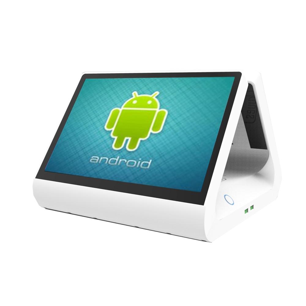 Бесплатная доставка 12 дюймов двойной экран android os Epos кассовый аппарат система pos система все в одном для ресторана розничного магазина