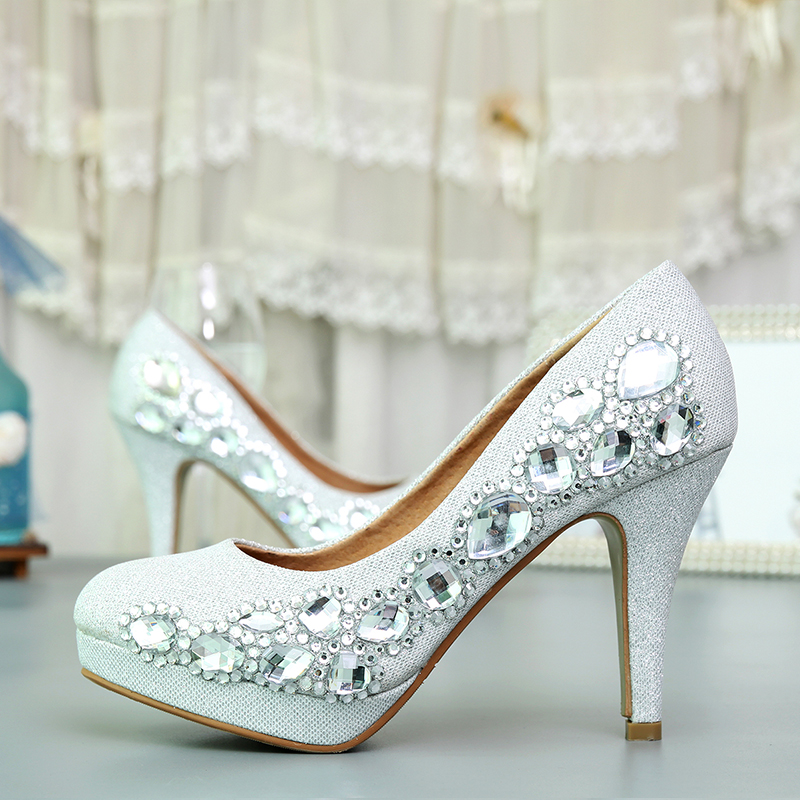 Elegant wedding Africn lady party shoes high heel shoesElegant wedding Africn lady party shoes high heel shoes