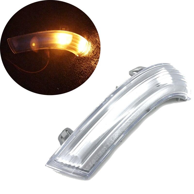 JEAZEA 1K0949101 1 pc Avant Gauche Côté Rétroviseur Indicateur Clignotants lumière Lampe pour VW Golf GTI Jetta MK5 Passat EOS Skoda