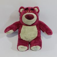 TOY STORY 3 Lotso Bear Plush Stuffed Doll High Quality Strawberry Bear Plush Toy 42cm
