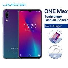 "UMIDIGI One Max Global Version 4GB 128GB 6.3 Waterdrop Full-Screen 4150mAh Dual SIM Face ID Smartphone NFC Wireless Charging"""