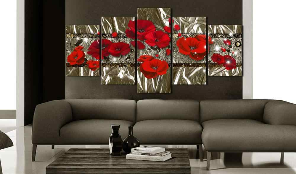5 Pieces Printed Beautiful poster Canvas Oil Painting Decoration Wall Picture In Living Room Modern Canvas Art PJMT-B-414
