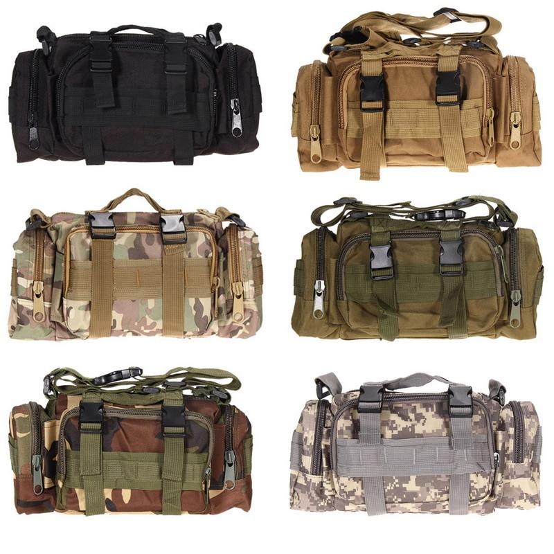 3L 600D Waterproof Waist Bag Oxford Climbing Bags Outdoor Military Tactical Camping Hiking Pouch Bag mochila military bolsa