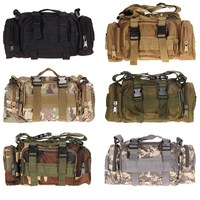 EA14 Outdoor Military Tactical Waist Pack Molle Camping Hiking Pouch Bag Free Shipping H1E1