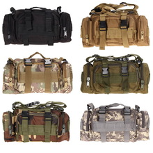 EA14 Luaran tentera Pek pinggang taktikal Molle perkhemahan beg beg poket Penghantaran Percuma H1E1