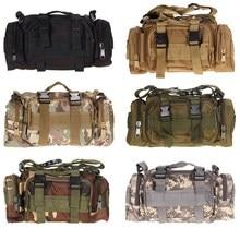 EA14 חיצוני צבאי טקטי מותניים Pack Molle קמפינג טיול שקית שקית משלוח חינם H1E1