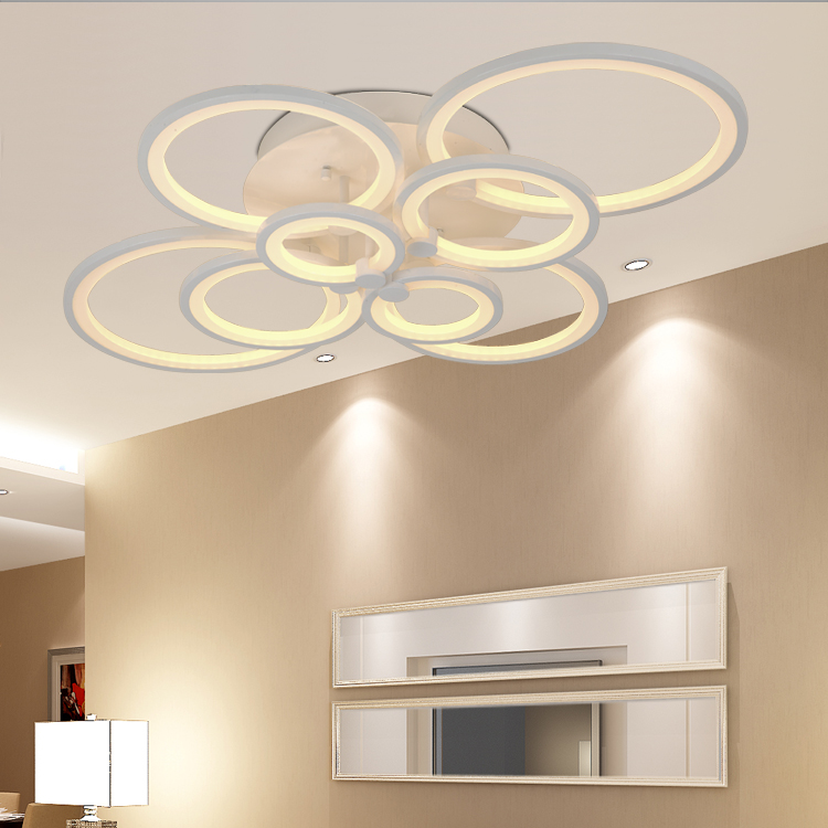LED Modern Ceiling Lights Ceiling Lamp Remote Control Dimmable Acrylic Decorative For Living Room Bedroom 8023 bluetooth гарнитура jabra sport pace red стерео универсальная