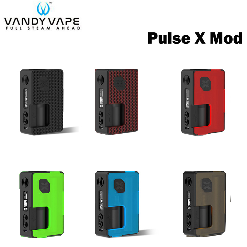 Original VANDY VAPE Pulse X Mod Powered By 18650 21700 20700 battery Max 90W Fit for