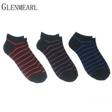6 пара/лот хлопок мужчины носки тапочки summer весна марка полосатый прохладный короткие сжатия coolmax экипажа черный лодыжки мужские носки(China (Mainland))