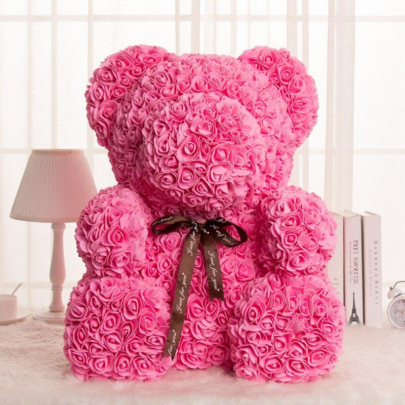 Subiu Urso Decoração da Festa de Casamento Presente do Dia Dos Namorados Namorada Presente Do Miúdo Dos Desenhos Animados Bonitos Super Amor Bonecas do Urso Presente - 4