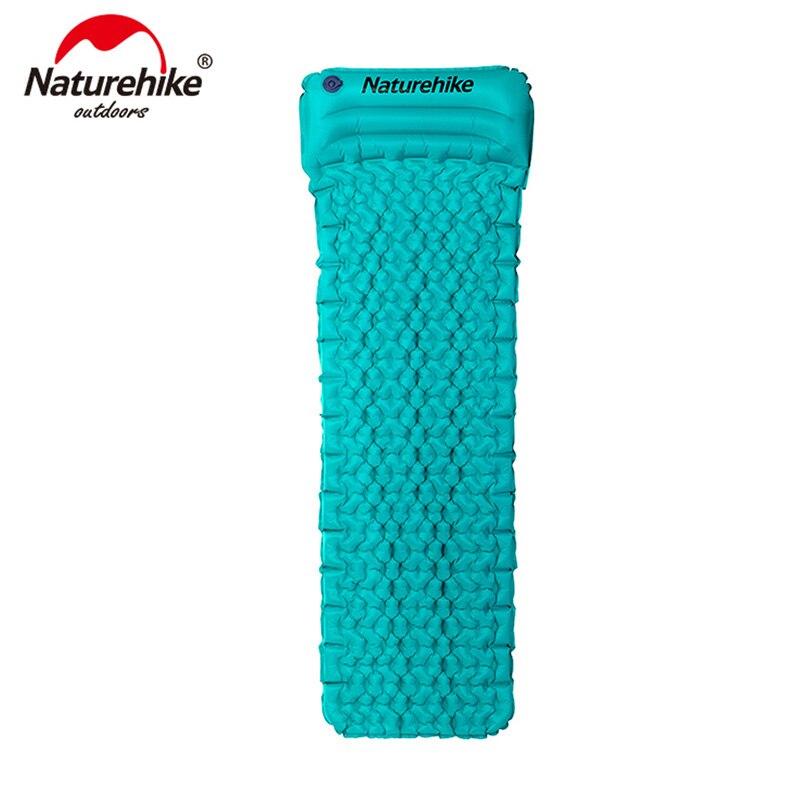 Naturehike Inflatable Mattress Moisture proof Mattress With Pillow Air Mattress TPU Camping Mat Sleeping Pad NH17T024