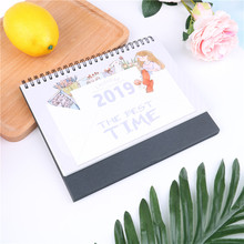dual Daily Scheduler Table Planner Yearly Agenda Organizer 2019 Calendar Desktop Paper Calendar