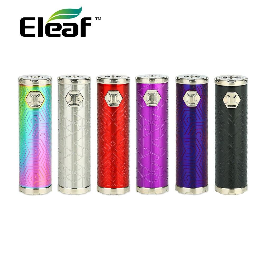 Nouveau Original Eleaf IJust 3 batterie 3000 mAh avec quatre couleurs LED indicateur de batterie et 80 W Max sortie batterie e-cig Mod VS Ijust S/2