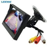 3PCS 5inch Digital Display Windshield LCD Car Monitor For Reversing Backup Camera DVD VCR