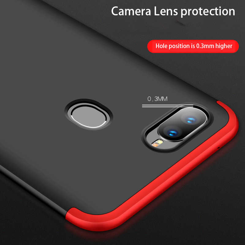 quality design 56872 ceab8 FGHGF Shell Case for OPPO F9 Case for OPPO F9 Pro Cover 360 Full Protection  Fundas For OPPO R17 Case For OPPO R 17 Cover Capa
