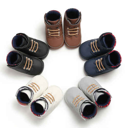 Toddler Boy Shoes Sneaker Sole 0-18 Months Soft Crib Girl Newborn Baby Infant  First Walkers Infant Toddler Baby Crib Shoes