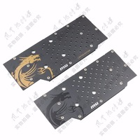 New Original for MSI GTX980ti GTX980 GAMING graphics card cooling fan backplane with mounting screws