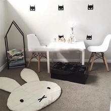 Теплое детское одеяло ковер Rugs дети стеганые Nordic игровой коврик хлопок животных кролик детская комната украшения ребенок геймпад