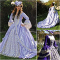 Custom-madeOn sale R-021 19 century Victorian Gothic Lolita/Civil War Southern Belle Ball Halloween dresses Sz US 6-26 XS-6XL