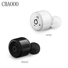 CBAOOO Wireless Bluetooth Earphone X1T Mini Invisible Cordless Bluetooth Headset CSR 4.1 Earbuds Anti-fall Headset with Mic(China)