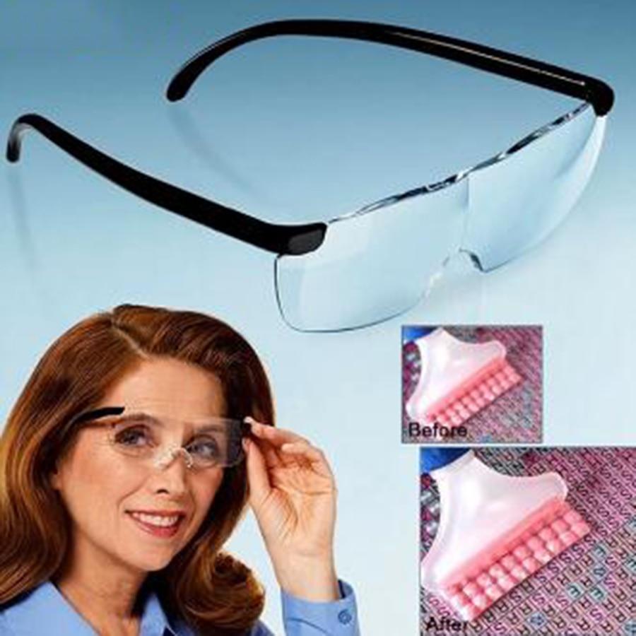 Acessórios de pintura diamante ferramentas 160 graus lupas visão para o homem velho unisex vidro leitura leve