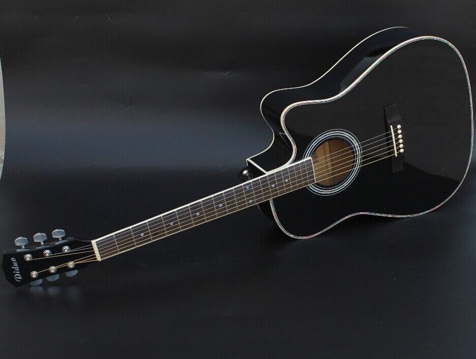 41 14 high quality guitars 41 inch high quality black acoustic guitar rosewood fingerboard. Black Bedroom Furniture Sets. Home Design Ideas
