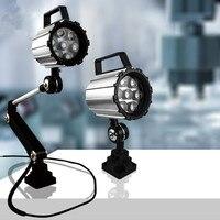 7 W/12 W 24/220 V LED CNC máquinas herramientas luz a prueba de explosiones impermeable grado IP67 lámpara de trabajo de taller para Industrial CE Rohs