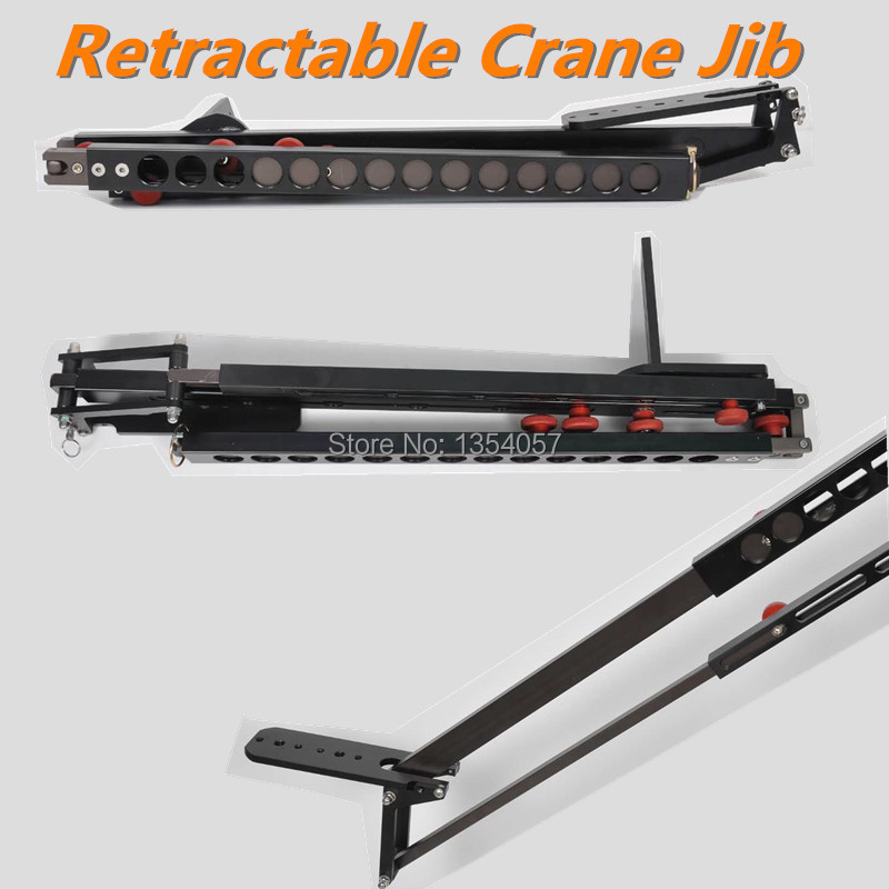 Minijib crane Portable Pro DSLR Video Camera Crane Jib Arm Aluminum Retractable Portable Camera DV Camcorder Video Crane Jib for bmw 4 series f32 coupe 420i 428i 430i 435i carbon fiber rear spoiler performance style 2014 2015 2016 2017