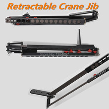 Minijib crane Portable Pro DSLR Video Camera Crane Jib Arm Aluminum Retractable Portable Camera DV Camcorder Video Crane Jib