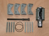 Хорнинг инструмент глубокую яму Диаметр цилиндра хонингования голову абразивные инструменты двойной Грит шлифовальный отточить H101 (66 мм 125