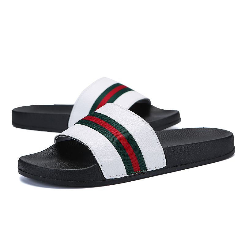 2018 Summer New Character Word Men and Women Non-slip Lovers Beach - Men's Shoes - Photo 4