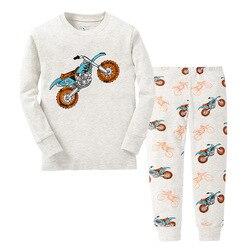 Outono primavera quente partes superiores bottoms define 1 2 3 4 5 6 7 anos bebê crianças meninas manga longa pijamas pijamas pijamas pj