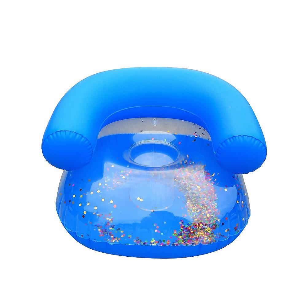Toddler Inflatable Children Sofa Stool Thickened Bathroom Sofa Chair Multifunctional Bathroom Sofa Chair