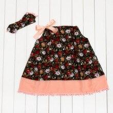 Baby Girl Sleeveless Summer Dress 2016 Hot Infant Dress Newborn Baby Gift Dress With Baby Girl Dress PPCD03