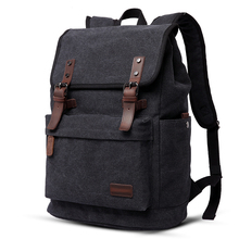 Фотография 2017 New Fashion Men Canvas Backpack Multifunctional Travel Bag Computer Backpacking College School Backpack Functional Bags