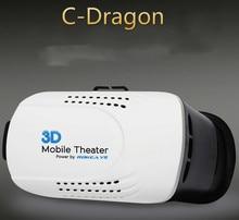 C-มังกรหัวหน้าเมารุ่นพลาสติก3D VRความจริงเสมือนแว่นตาG Oogleกระดาษแข็งภาพยนตร์เกมสำหรับ3.5-6นิ้วมาร์ทโฟน