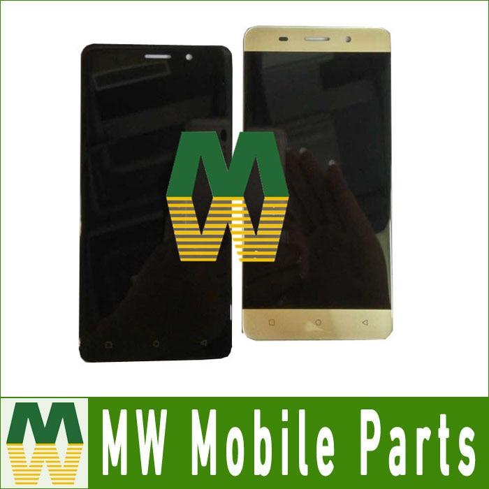 imágenes para Alta calidad 1 pc/lot para highscreen rabia de energía evo lcd display + touch screen asamblea digitalizador negro color de oro blanco