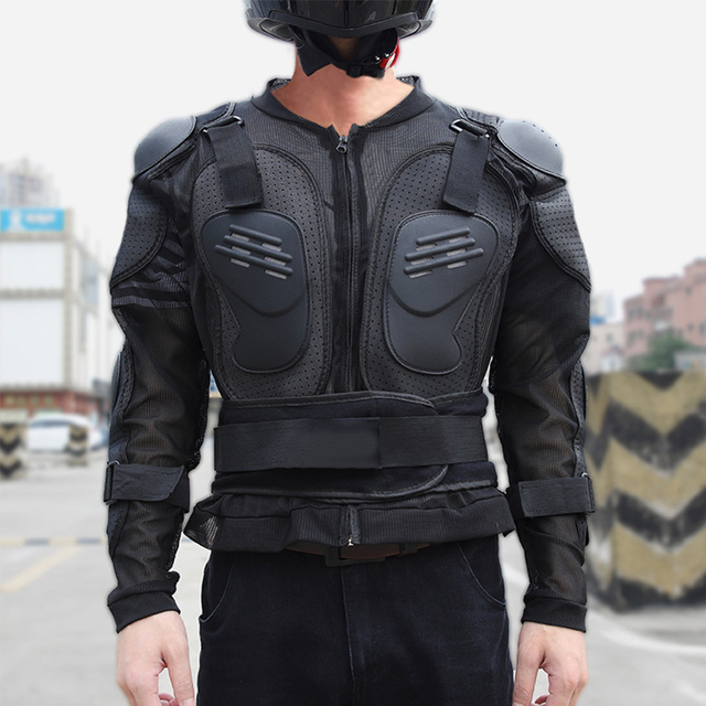 Veste de protection Moto  légère garde coupe-vent Protection avec armure 1