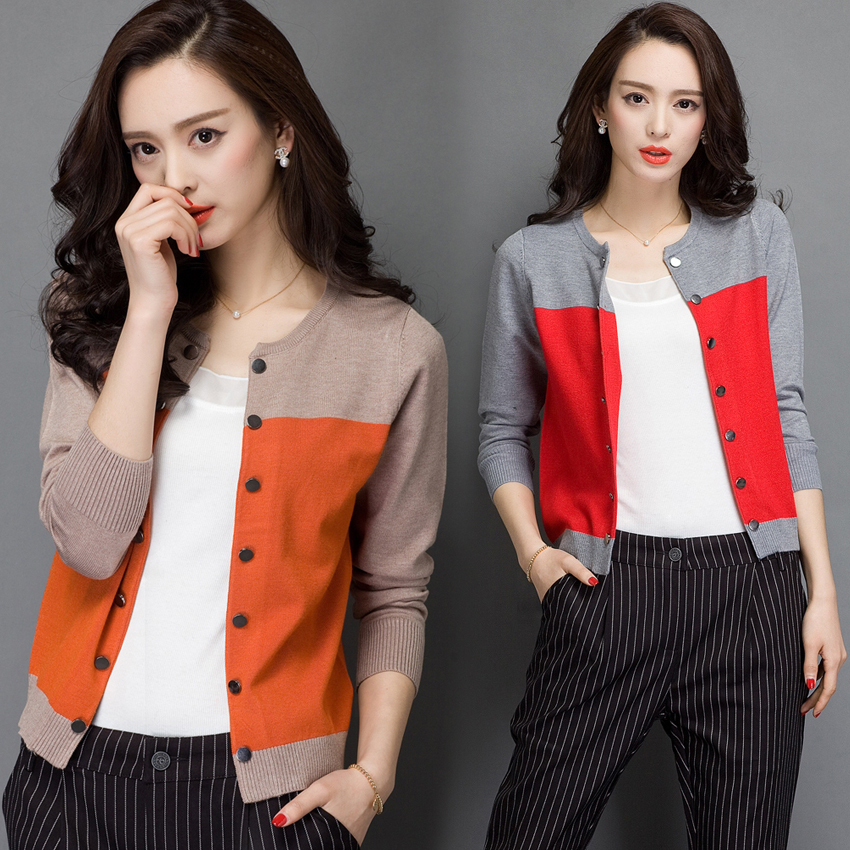 2015 high quality autumn winter sweater women cardigan double ...