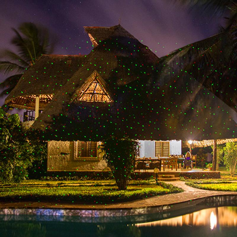Outdoor Garden Lawn Stage Effect Light Fairy Sky Star Laser Projector Waterproof Landscape Park Garden Christmas Decorative Lamp (6)