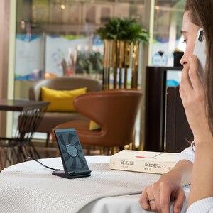 Image 2 - NANFU 5 W/7.5 W/10 W Qi Kablosuz Şarj Cihazı Hızlı Şarj Tutucu Dikey Hava soğutmalı Standı huawei iPhone için X Xs Samsung S8/S9 Telefon