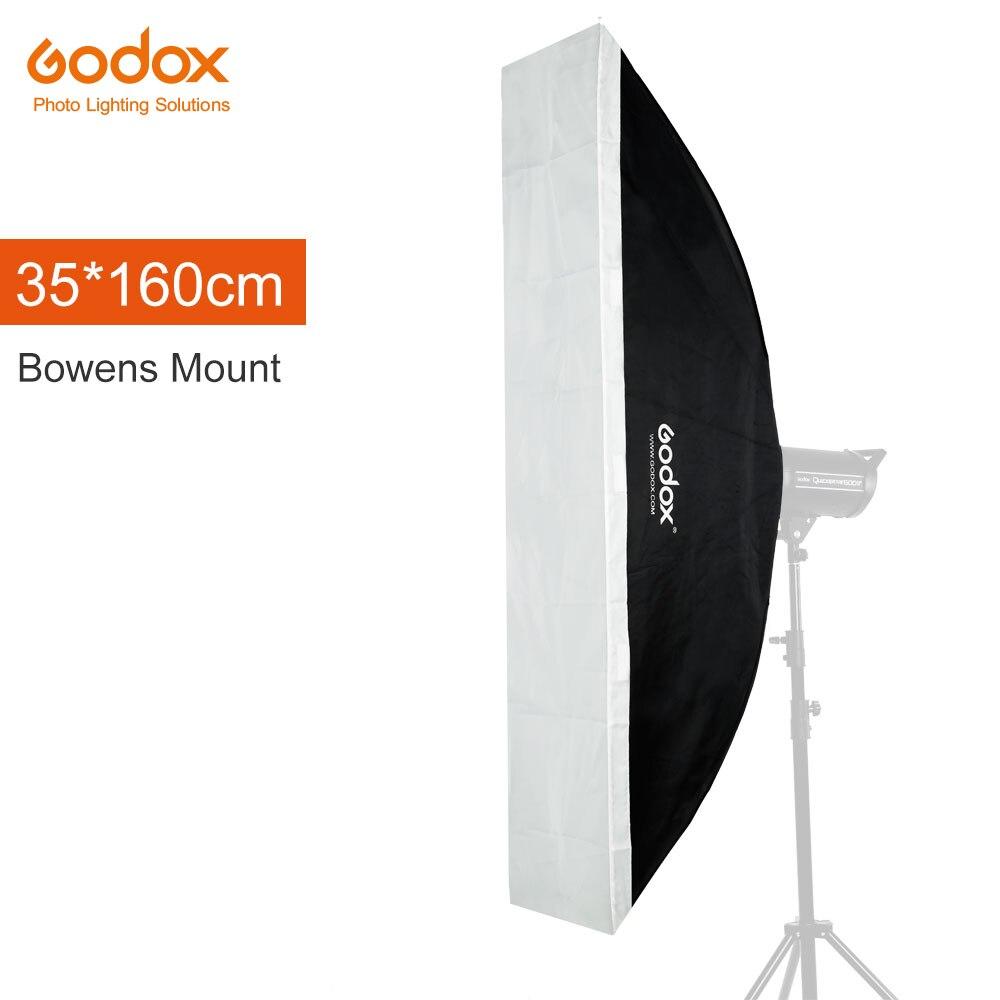 Godox 35 x 160cm 14 x 63 Speedlite Studio Strobe Flash Photo Reflective Softbox Soft Box