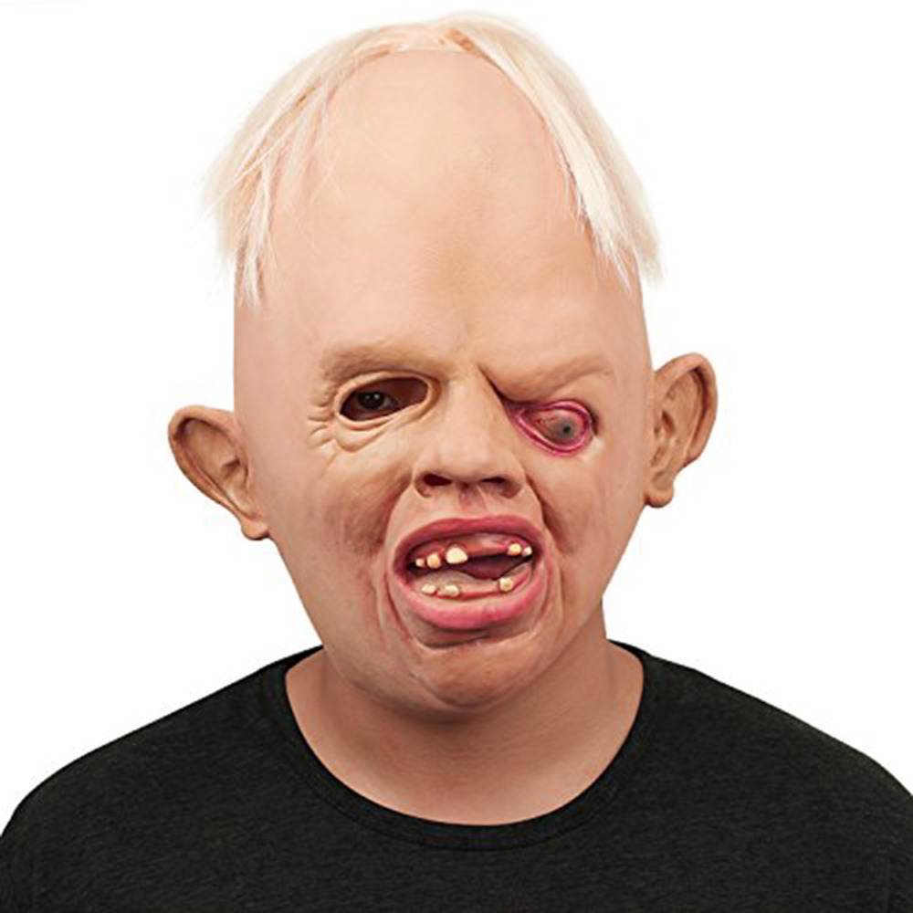 monster adult latex full head face breathable halloween mask fancy dress party mask horror mask cosplay - Creepy Masks For Halloween