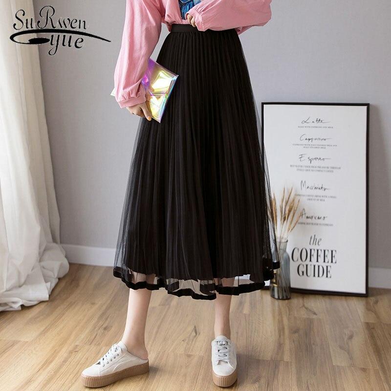 dc07797c53d0 Модные женские юбки плиссированные юбки элегантные ...
