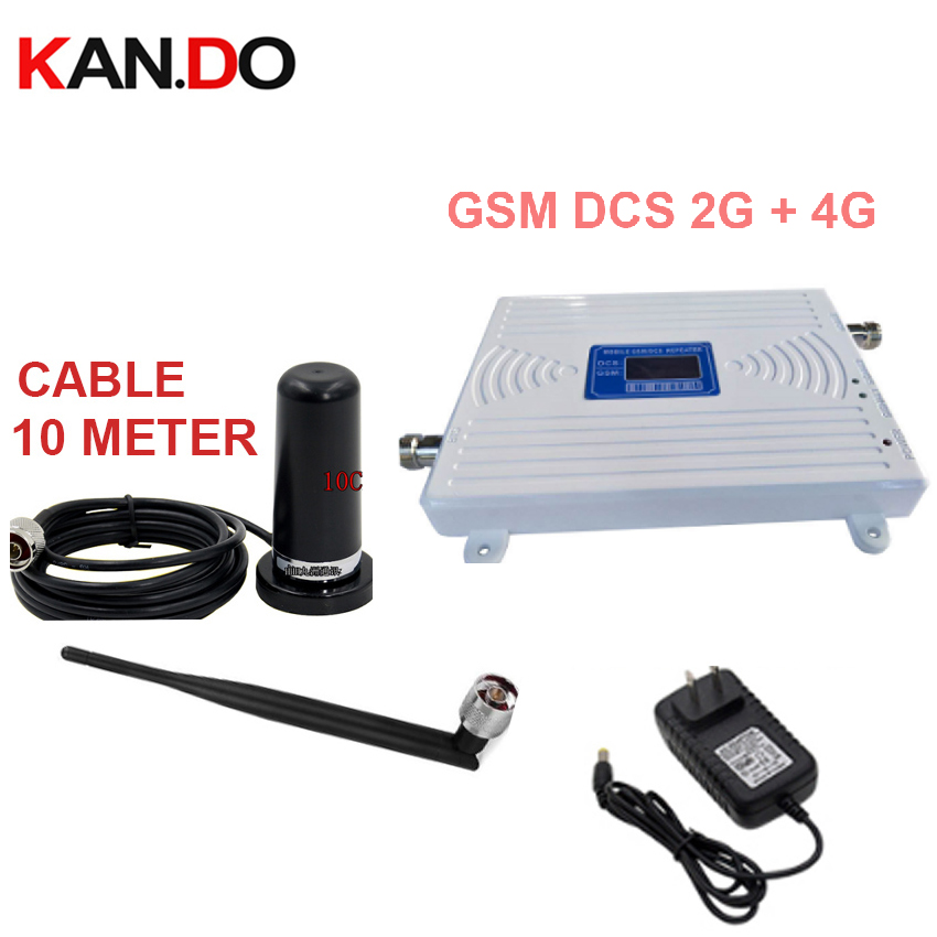 Home Use Use 2G 4G Repeater Dual Band 2g 4g Booster GSM 900Mhz Booster+dcs 1800Mhz Repeater 2G 4G Repeater Gsm DCS Repeater
