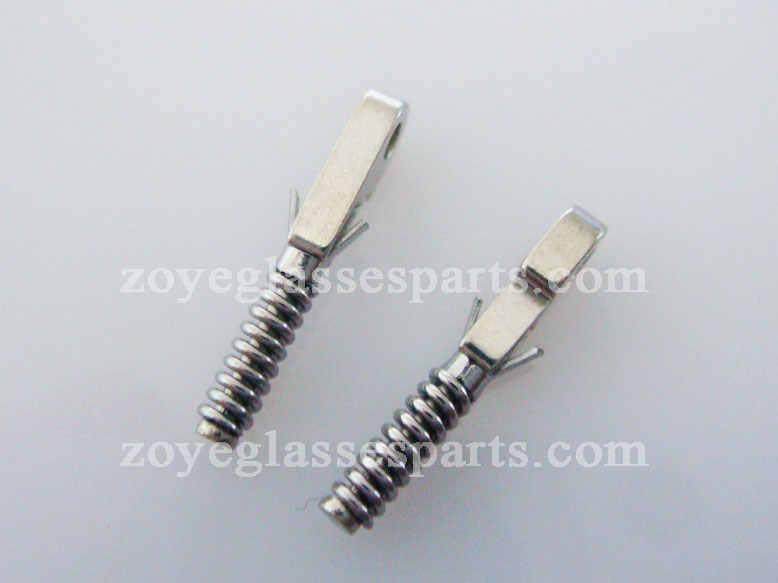 1.3mm spring mechanism for optical frame spring hinge repairing TX-025 stainless steel spring shipping in 2 days